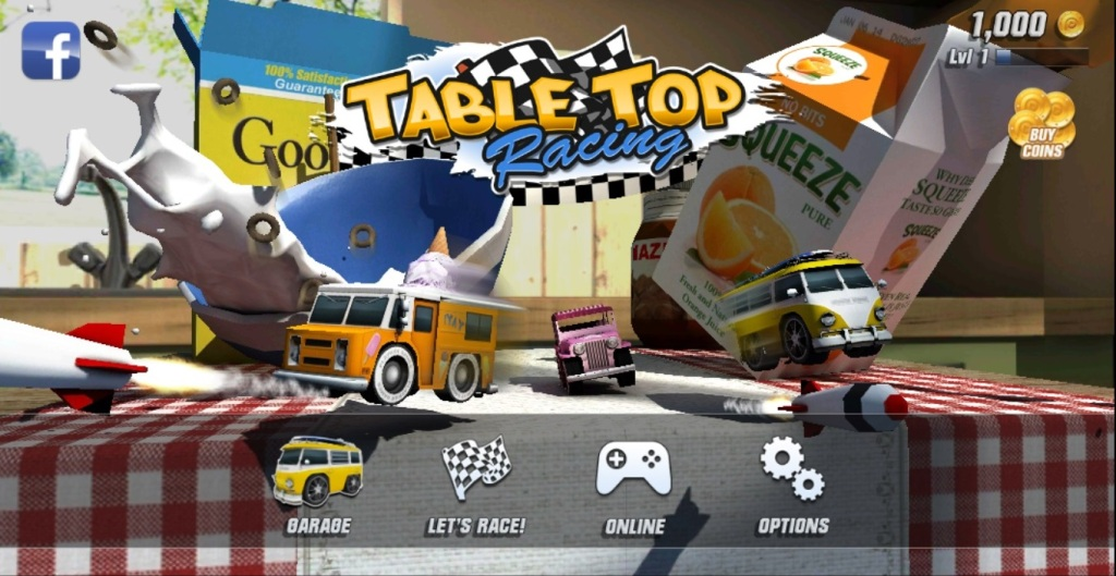 table top racing гонки для андроид