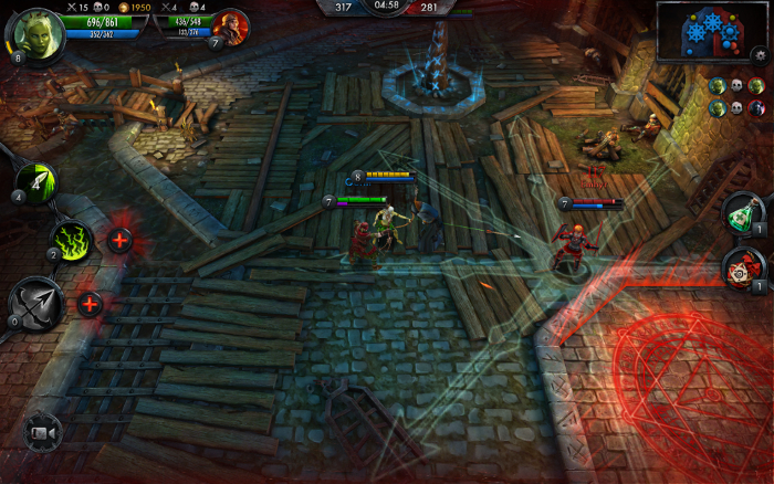 moba android witcher