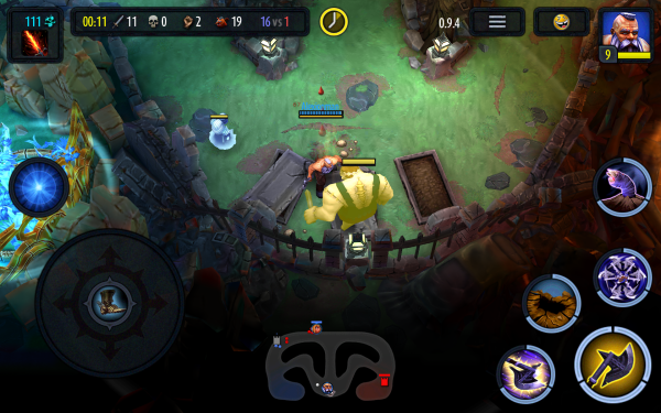 Heroes of SoulCraft MOBA Android