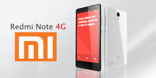 Xiaomi Redmi Note 4G обзор