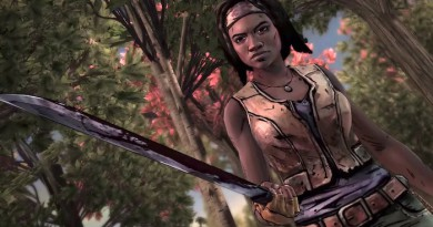 The Walking Dead Michonne,