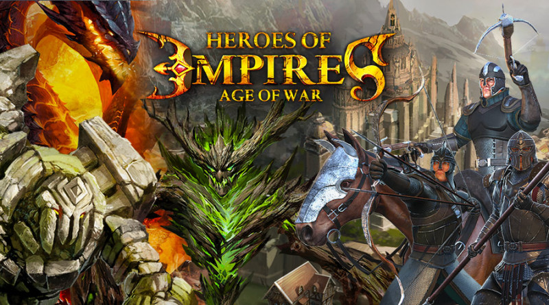 Heroes of Empire: Age of War стратегия на Андроид
