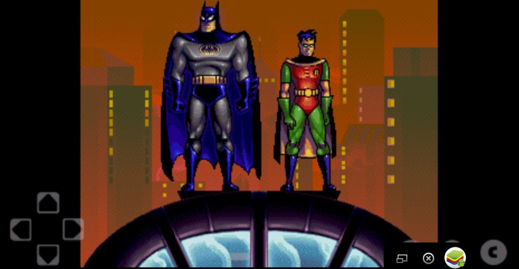 Эмулятор SEGA для Андроид Batman Robin