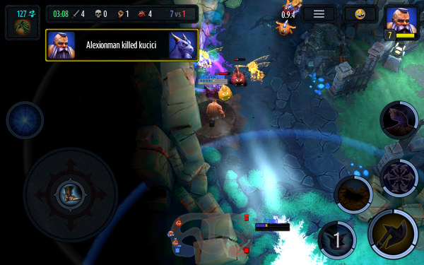 HOS MOBA Android
